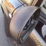 SEAT MIRRORS IN CARBON STYLE VINYL