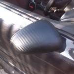 SEAT MIRRORS IN CARBON STYLE VINYL - VINYL WRAPPING STOURBRIDGE- WESTMIDLANDS